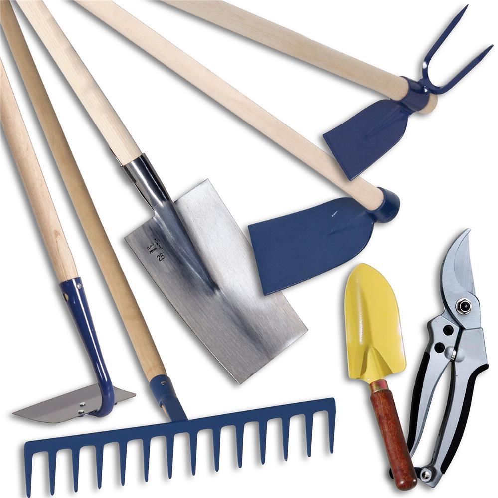 kit de 7 outils classiques pour le potager forges et jardins. Black Bedroom Furniture Sets. Home Design Ideas