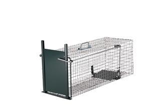 Cage piège 1 entrée pour animaux nuisibles.