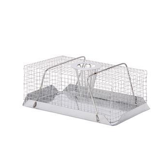 Piège cage à souris métallique rectangle