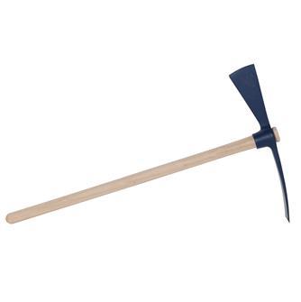 Pioche hache 2 kg avec manche bois