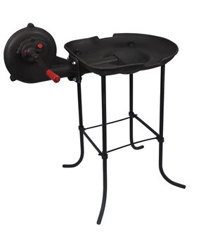 Forge à charbon en fonte avec ventilateur