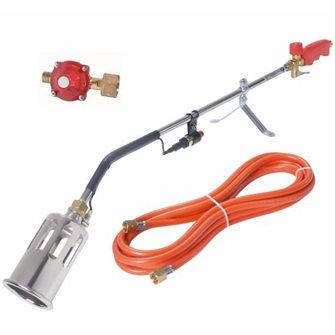 Désherbeur thermique gaz 60 kW avec piezzo tuyau et détendeur 4 bars