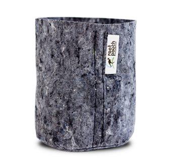 Pot géotextile gris 12 litres